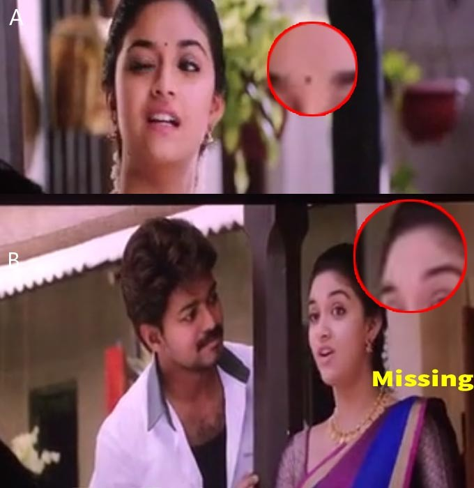 Vijay,Keerthy Suresh,Vijay and Keerthy Suresh,Bairavaa,funny mistakes in Bairavaa,Bairavaa mistakes,mistakes in Bairavaa movies,funny mistakes in movies,fummy movie mistakes,Ilayathalapathy Vijay