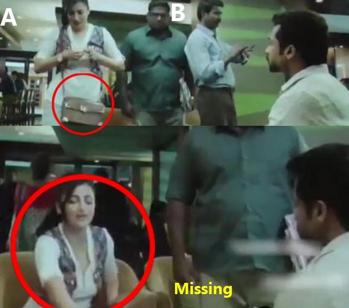 Suriya,Singam 3,Si3,Si 3,Singam 3 mistakes,funny mistakes in Singam 3,Singam 3 movie mistakes,Anushka Shetty,Shruti Haasan