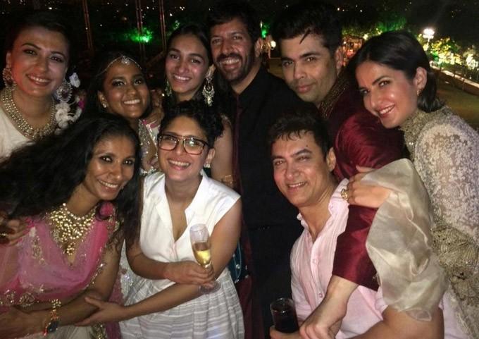 Celebrities at Arpita Khan's Wedding
