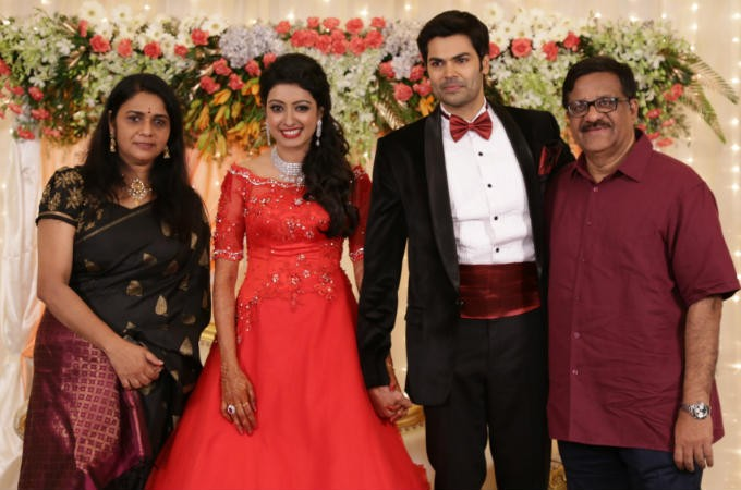 venkatramans wedding reception