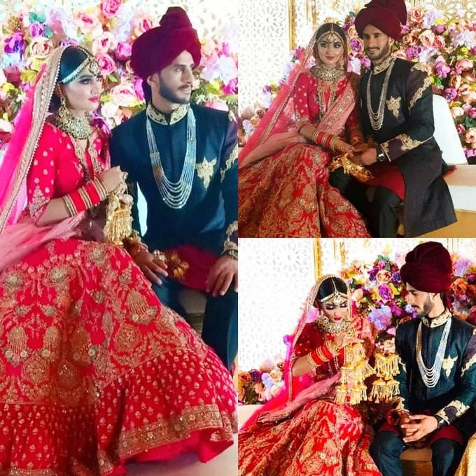 Hasan Ali marriage