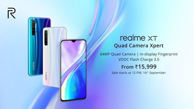 Realme XT launched in India