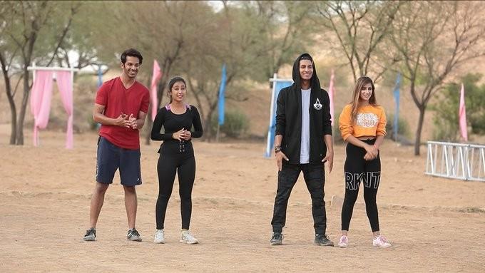 Shrey, Priyamvada, Ashish, Meisha