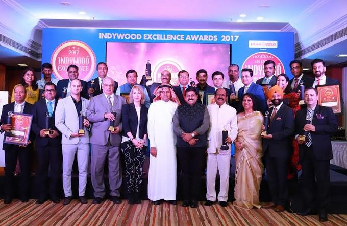 Indywood Hospitality Excellence Awards 2017 winners