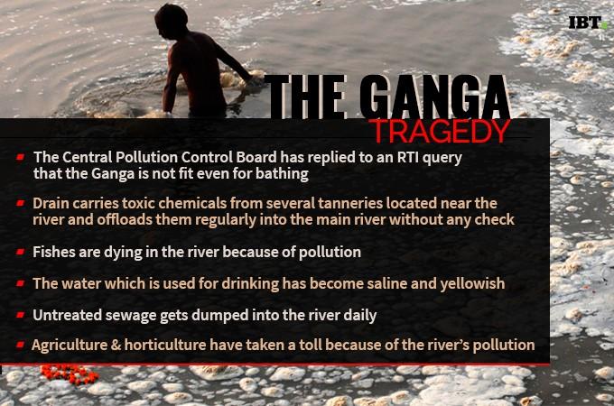 Cleaning of Ganga hasn't been successful in three years of Modi rule