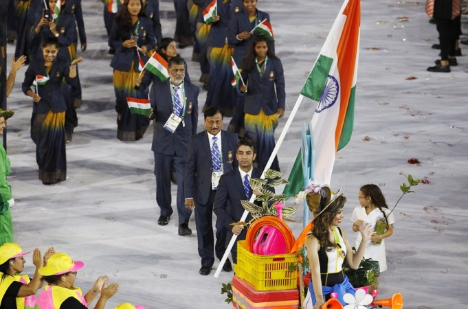 Abhinav Bindra India Olympics Opening Ceremony