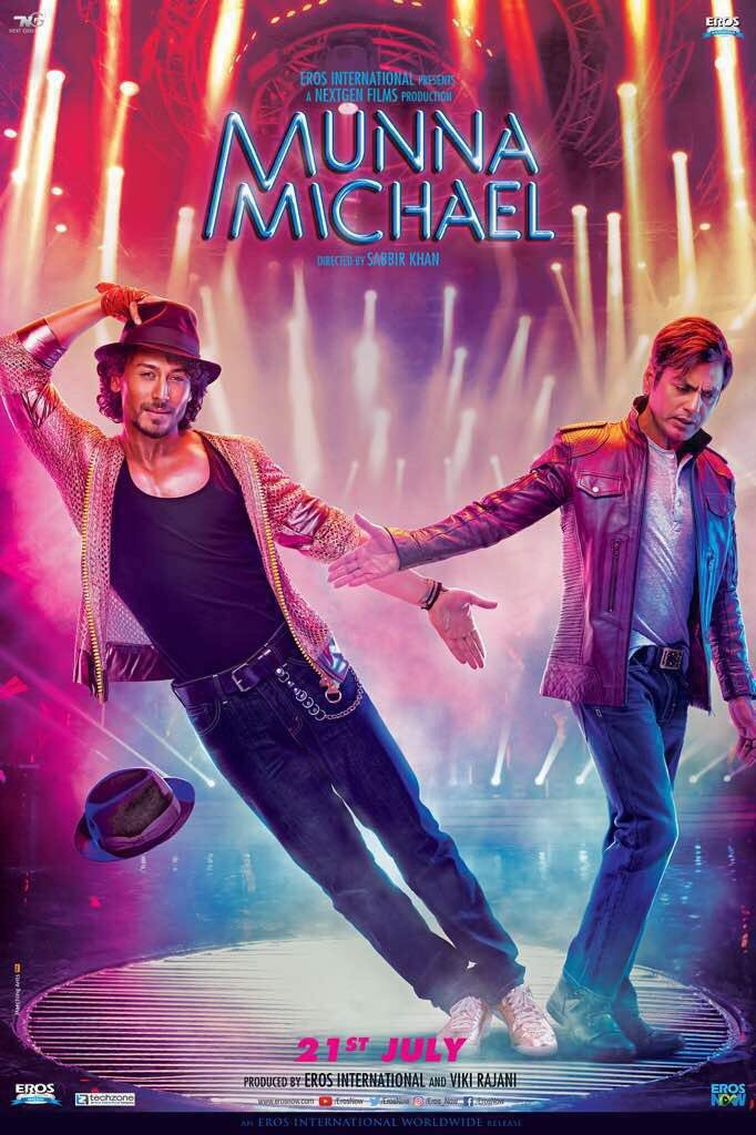 Tiger Shroff S Munna Michael Movie Poster Photos Images Gallery