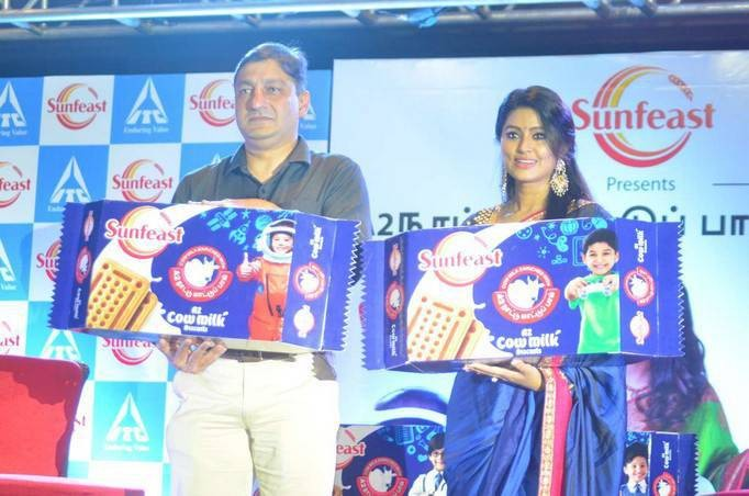 Sneha Prasanna,Sneha,actress Sneha Prasanna,actress Sneha,Sneha at Sunfeast Biscuits launch,Sunfeast Biscuits launch