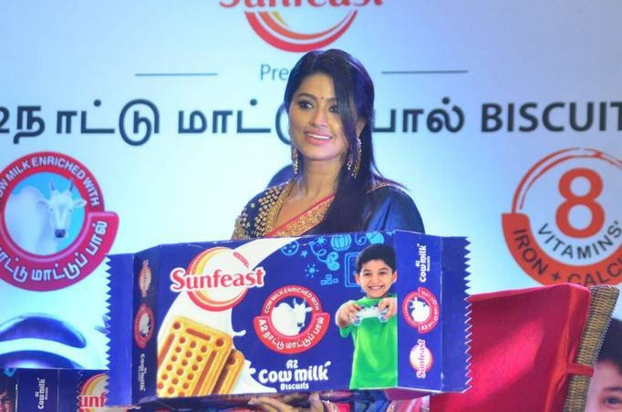 Sneha Prasanna,Sneha,actress Sneha Prasanna,actress Sneha,Sneha at Sunfeast Biscuits launch,Sunfeast Biscuits launch