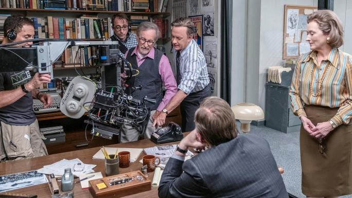 Meryl Streep,Steven Spielberg