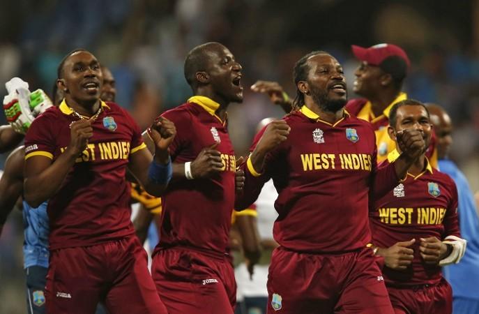 Bravo Sammy Gayle West Indies World T20 2016