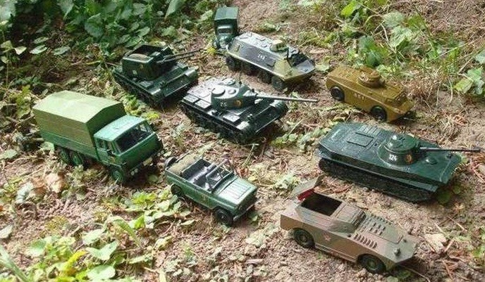Russian diplomats mocked NATO with a tweet showing toy tanks as