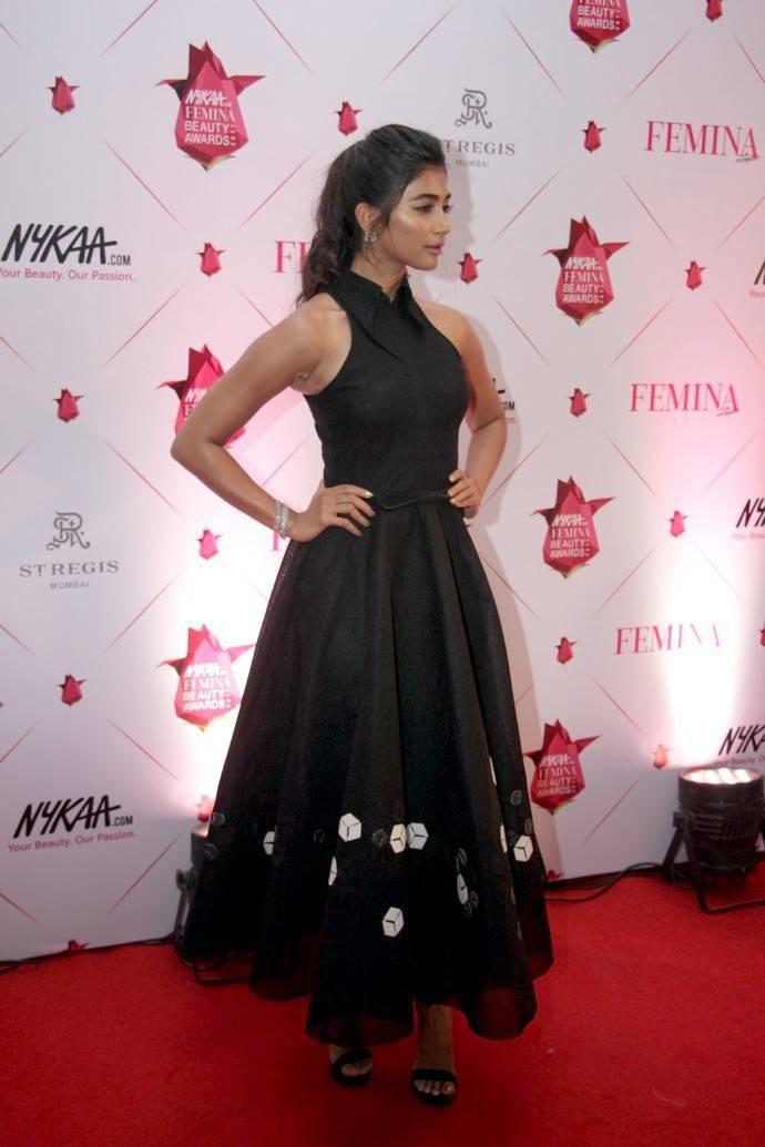 Pooja Hegde,actress Pooja Hegde,Pooja Hegde at Femina Beauty Awards 2017,Femina Beauty Awards 2017,Femina Beauty Awards,Femina Beauty Awards pics,Femina Beauty Awards images,Pooja Hegde pics,Pooja Hegde images,Pooja Hegde photos,Pooja Hegde stills