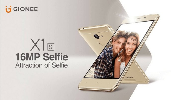 Gionee launches 'X1s',X1s,X1s smartphone,'X1s' sports,X1s sports,Gionee,Gionee mobiles,Gionee smartphone