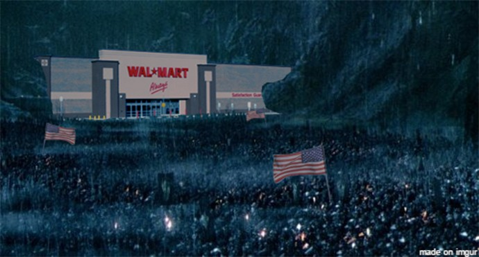 Black Friday 2014: Walmart 'Shopping Madness' Meme Goes