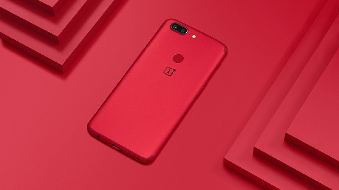 OnePlus 5T Lava Red