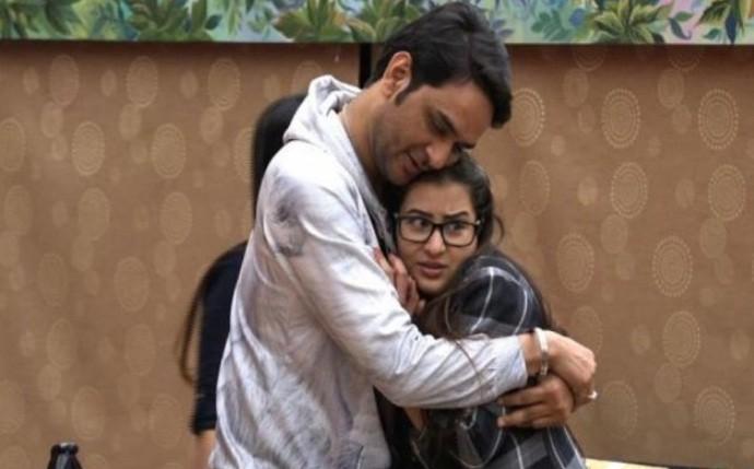 Vikas Gupta and Shilpa Shinde in Bigg Boss 11