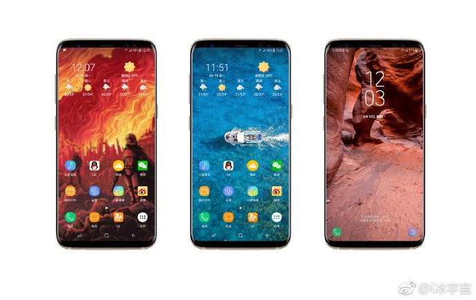 Galaxy Note 8 bezel-less Infinity Display
