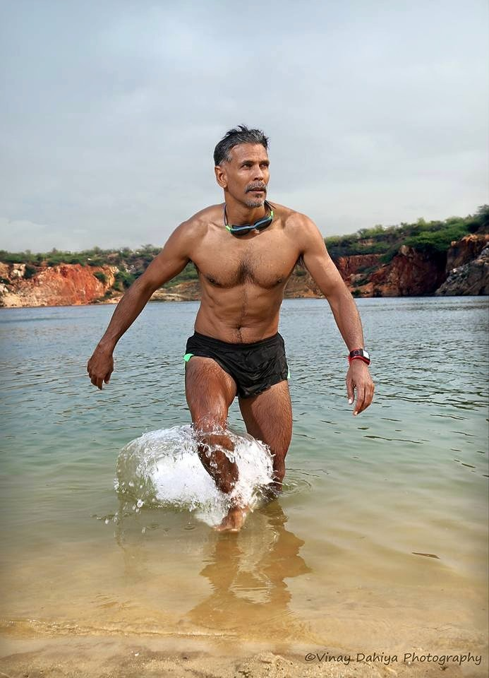 Milind Soman,Ironman,toughest triathlon,july 19