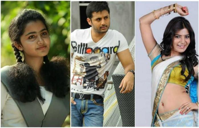 A Aa,A Aa review,A Aa movie review,Nithin,Samantha,Anupama Parameshwaran,Trivikram Srinivas,Trivikram Srinivas movie,actress Samantha Ruth Prabhu