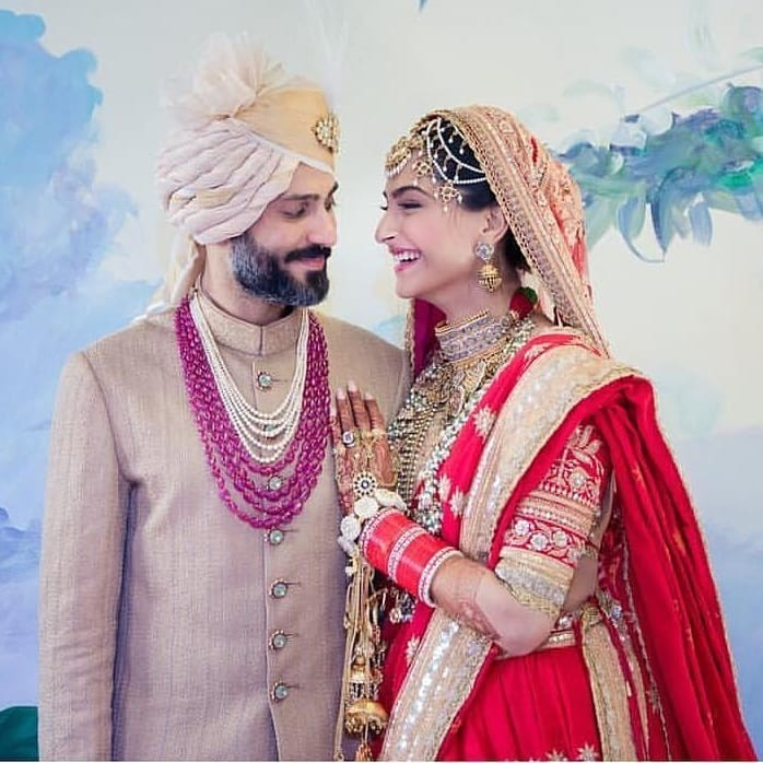 Sonam Kapoor,Sonam Kapoor  wedding,sonam kapoor anand ahuja,Sonam Kapoor wedding pics,Sonam Kapoor wedding images,Sonam Kapoor marriage,Anand Ahuja,Anand Ahuja wedding,Anand Ahuja wedding pics