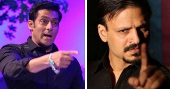 Salman Khan and Vivek Oberoi
