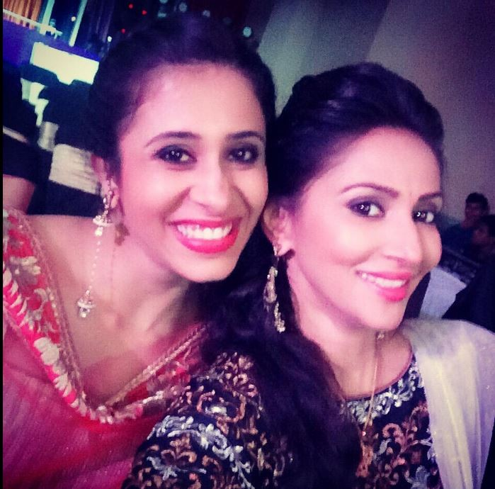 Rishina Kandhari and Kishwer Merchantt