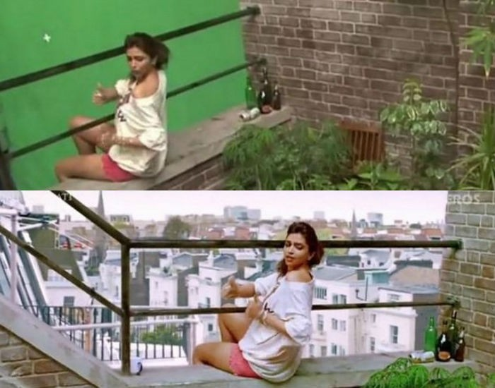 Before And After VFX Shots From Bollywood Movie,Before And After VFX Shots,Bollywood Movie,Bollywood Movie Before And After VFX Shots,VFX Shots,Before And After