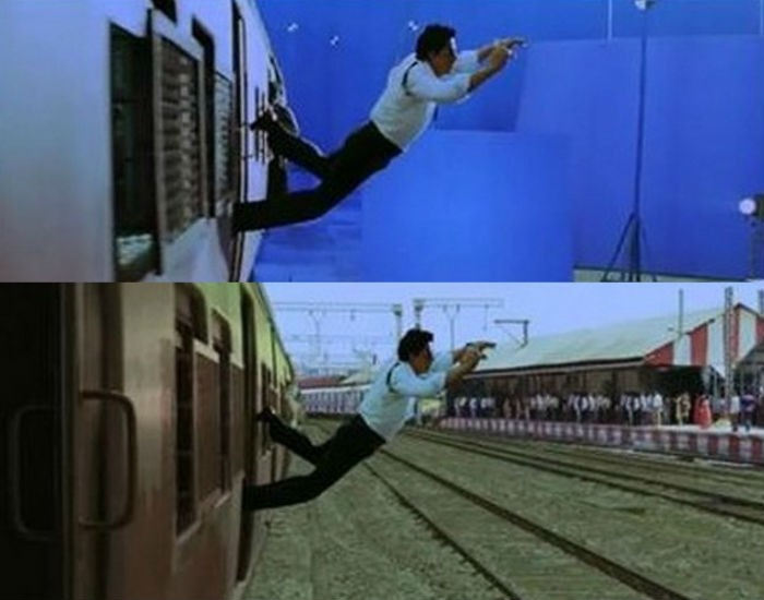 Ra.One Before And After VFX Shots