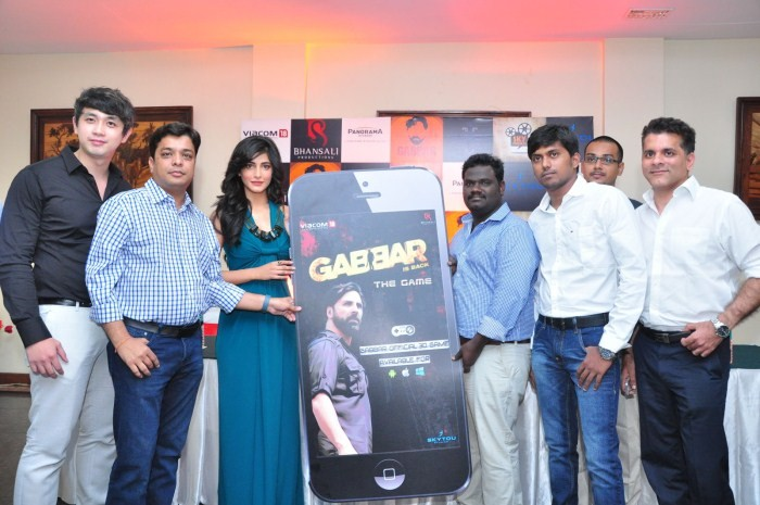 Shruthi Hassan Launched Gabbar Game,Gabbar Game,Shruthi Hassan,actress Shruthi Hassan,Shruthi Hassan pics,Shruthi Hassan images,Shruthi Hassan photos,Shruthi Hassan stills,Shruthi Hassan hot pics,hot Shruthi Hassan,Shruthi Hassan latest pics