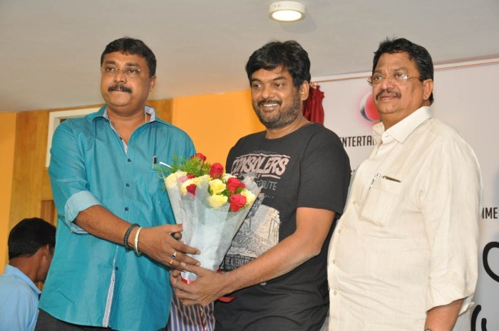 Jyothi Lakshmi Movie First Look Launch