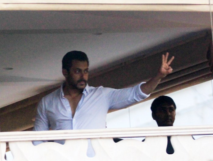 Salman Khan Convicted: Celebs visit him at his Residence