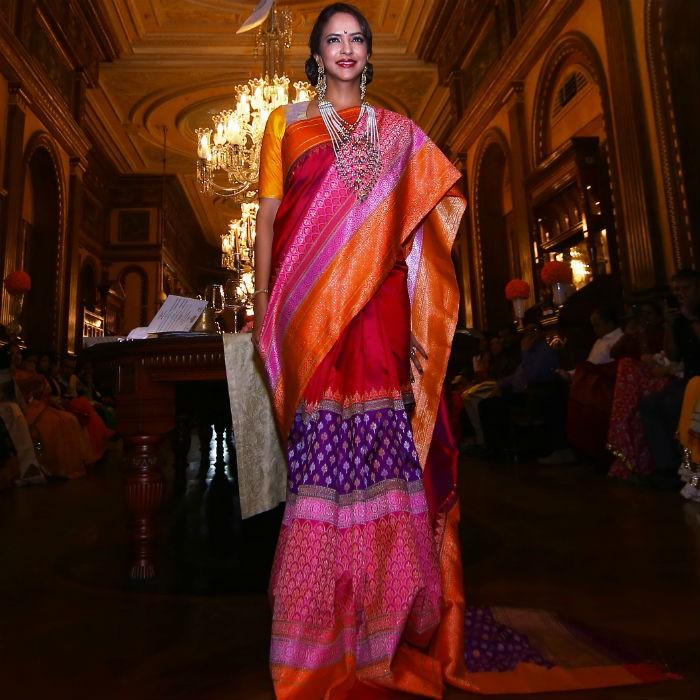 Designer Gaurang Shah,Gaurang Shah's fundraiser Fash show Noor,Dia Mirza,Lakshmi Manchu,Regina Cassandra,Sanjjanaa,Prince,Harshvardhan,Navdeep