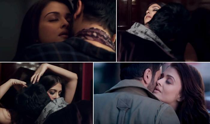 Ranbir Kapoor and Aishwarya Rai,Ranbir Kapoor,Aishwarya Rai,Ranbir Kapoor and Aishwarya Rai Kissing scenes,Ranbir Kapoor and Aishwarya Rai lip Lock,Ranbir Kapoor and Aishwarya Rai romantic kissing scenes,Ae Dil Hai Mushkil,Ae Dil Hai Mushkil romantic scen