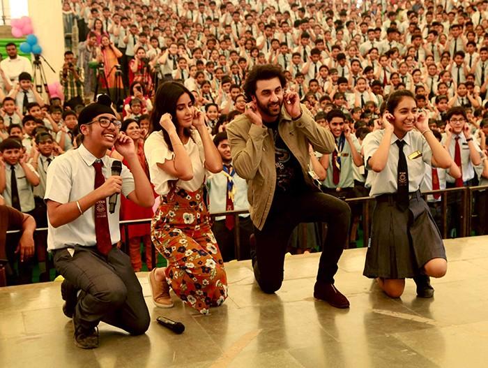 Jagga Jasoos,Ranbir Kapoor and Katrina Kaif,Ranbir Kapoor,Katrina Kaif,Jagga Jasoos promotion,Jagga Jasoos movie promotion