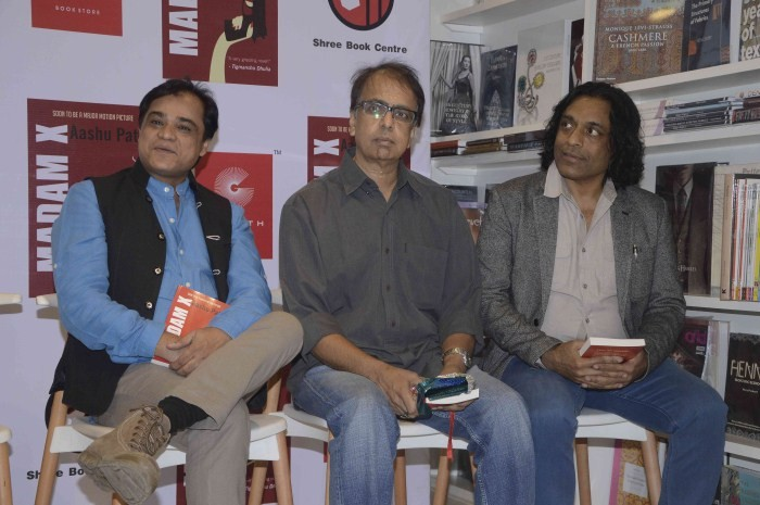 Aashu Patel's Launches His English Novel 'Madam X',Aashu Patel,Madam X,Madam X Novel