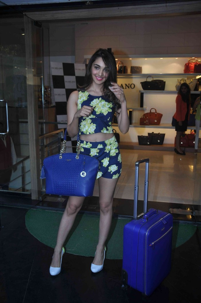 Kiara Advani Launches Da Milano Brand Spring Summer Collection 2015,Kiara Advani,actress Kiara Advani,Kiara Advani latest pics,Kiara Advani pics,Kiara Advani images,Da Milano Brand Spring Summer Collection,Da Milano Brand