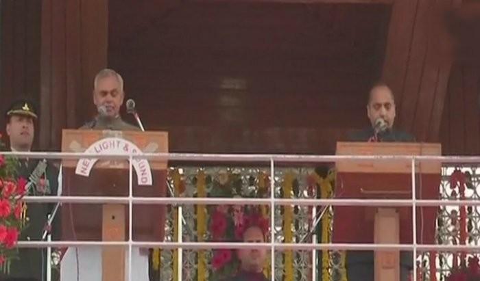 Jai Ram Thakur,Leaders attending Jai Ram Thakur's swearing-in-ceremony,Narendra Modi,PM Narendra Modi,BJP President Amit Shah
