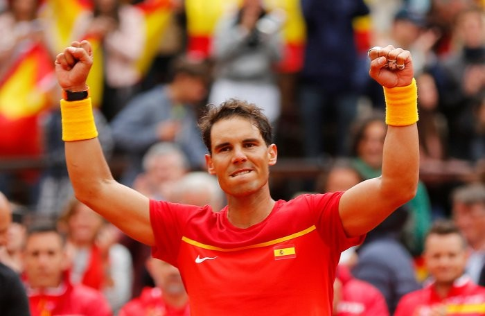 Rafael Nadal,Rafael Nadal wins Davis Cup,Davis Cup,Davis Cup 2018,Philipp Kohlschreiber