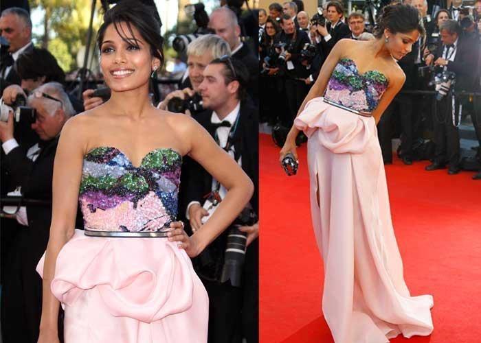 Freida Pinto at 65th Cannes Film Festival