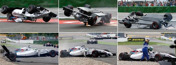 Massa accident German GP