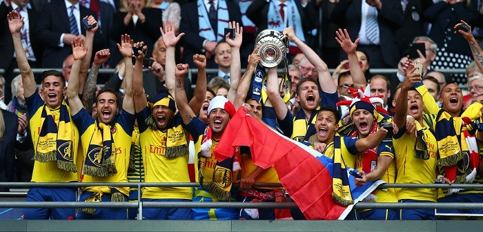 Arsenal FA Cup Final 2015 Trophy