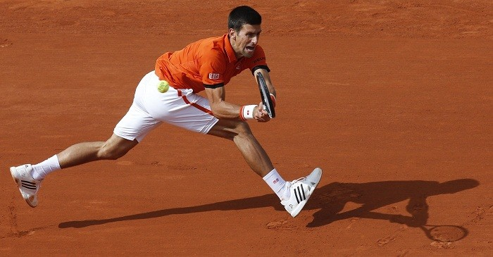 Novak Djokovic French Open 2015 2nd Round