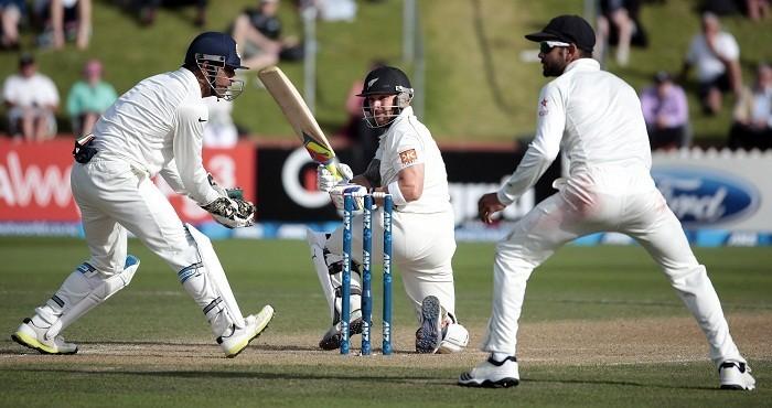 Brendon McCullum MS Dhoni Virat Kohli New Zealand India