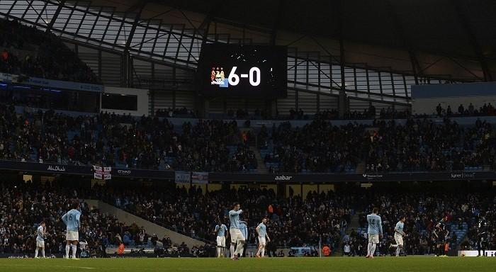 Manchester City Tottenham Scoreboard