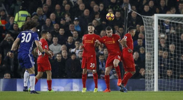David Luiz, Chelsea, Liverpool, Premier League, goal