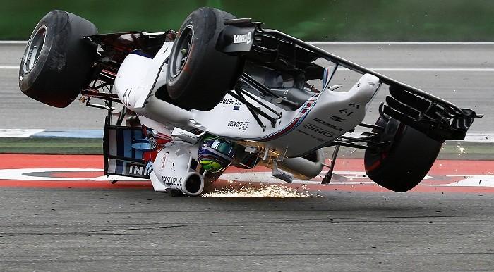 Felipe Massa Crash
