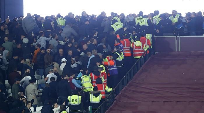 West Ham Chelsea fans