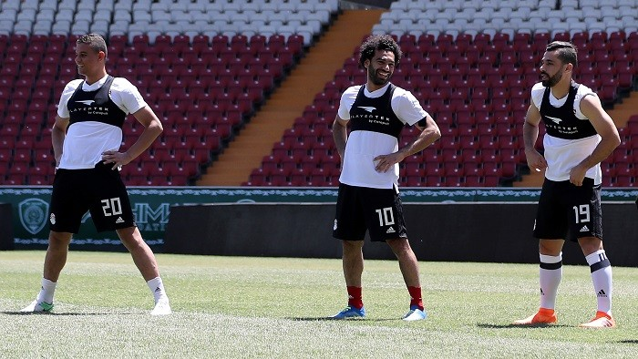 Mohamed Salah left out of Egypt's starting line-up against Uruguay
