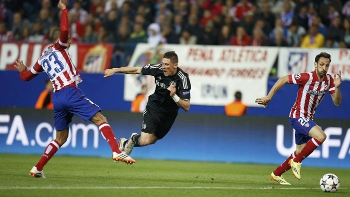 Fernando Torres Miranda Chelsea Atletico Madrid
